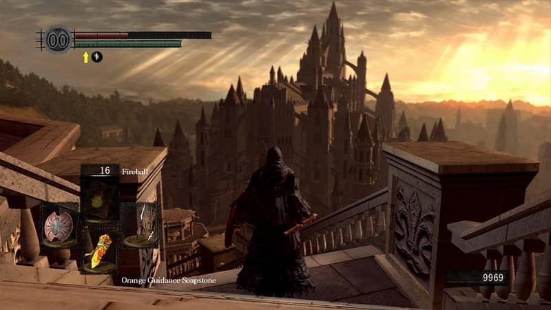 The breathtaking Anor Londo.