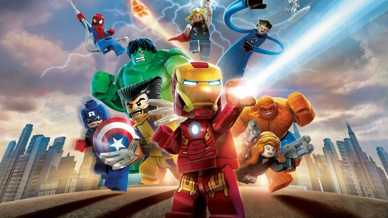 LEGO Marvel Avengers 3-min