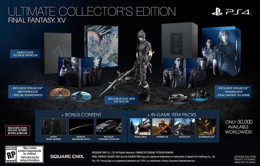 Final Fantasy XV - Ultimate Collectors Edition-min