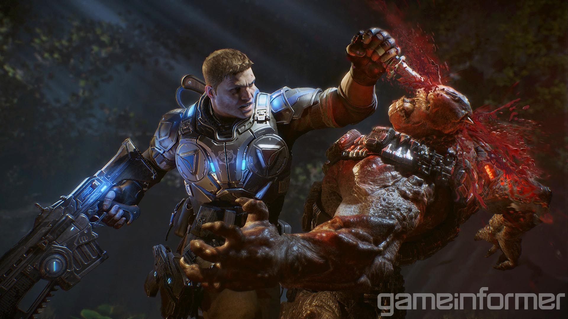 Gears of War 4 will feature a greater variety of bloody executions thanks to the introduction of the combat knife.