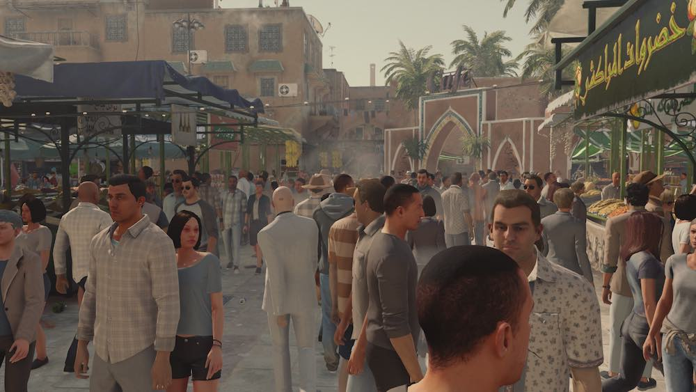 Hitman Marrakesh Market