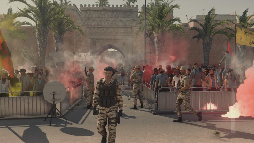 Hitman Marrakesh embassy