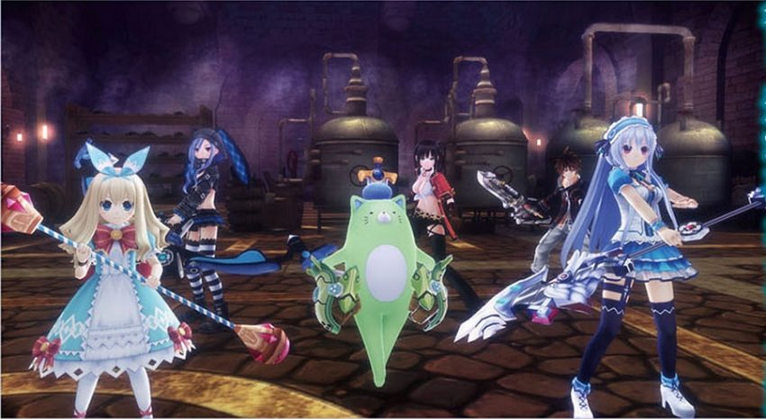 Fairy Fencer F 4