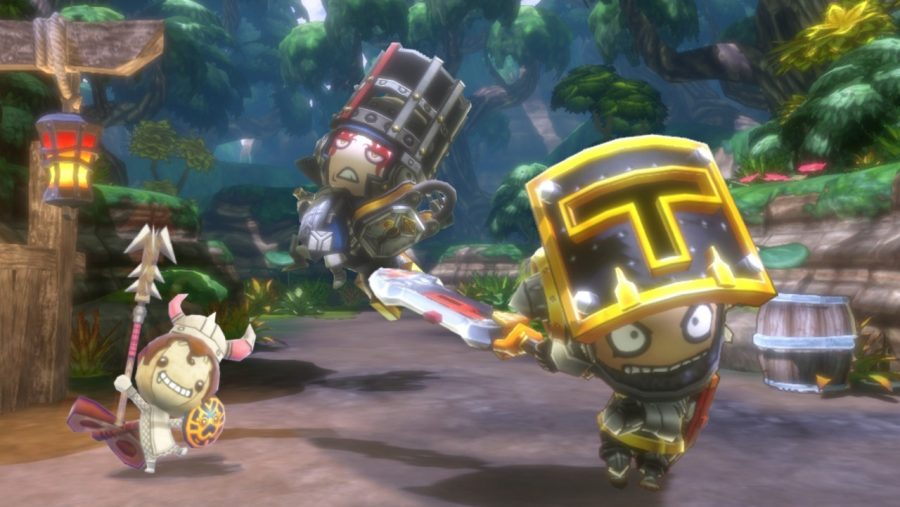 Happy Dungeons is great fun and for a preview, there isn't a lot