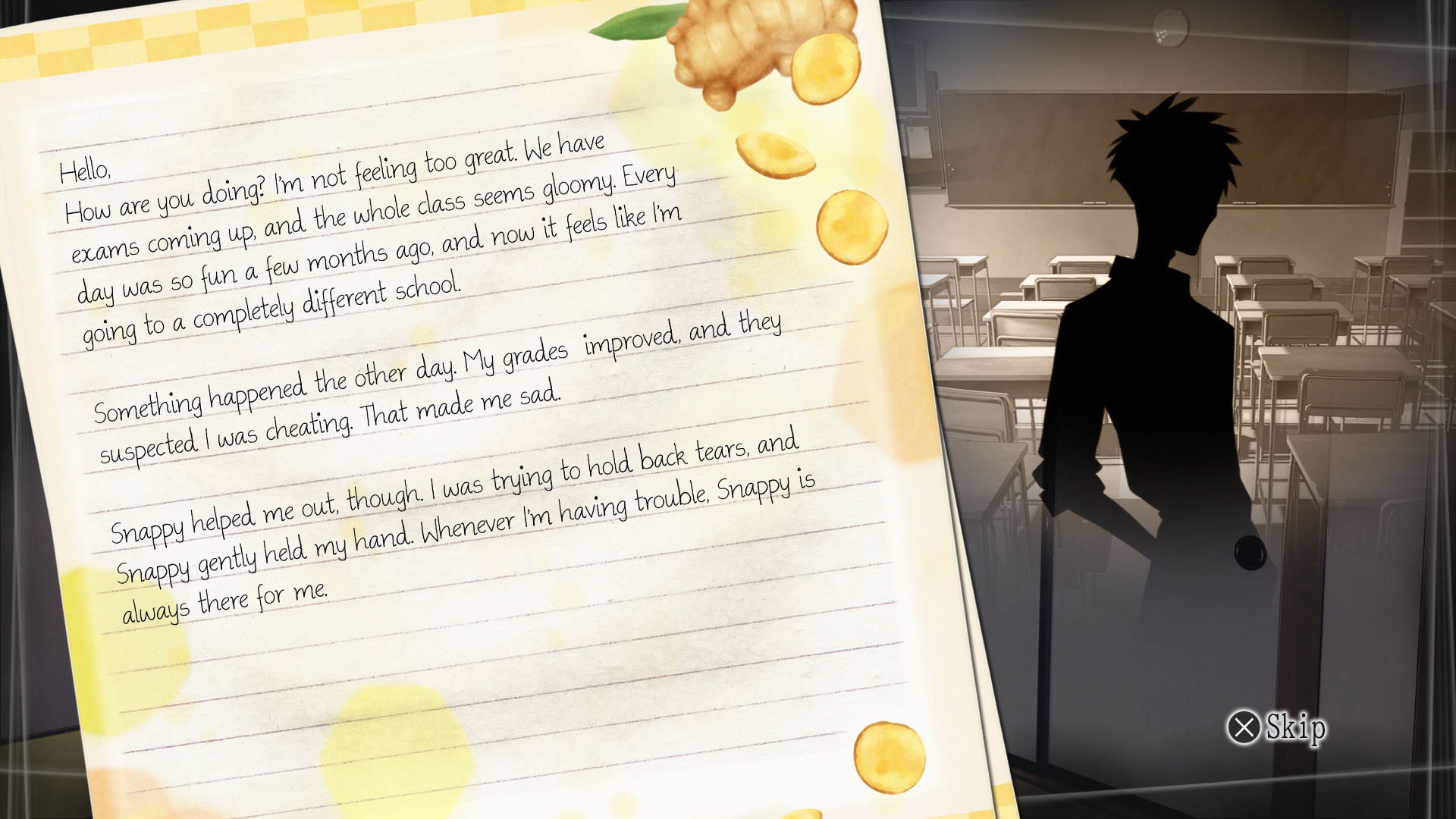 €�those Looking For A Phoenix Wrightstyle Experience On Ps4 Should Look No  Further €� Root Letter Scratches The Itch Whilst Also Presenting A More Pelling