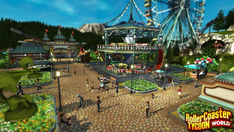 RollerCoaster Tycoon World Review – GameSpew