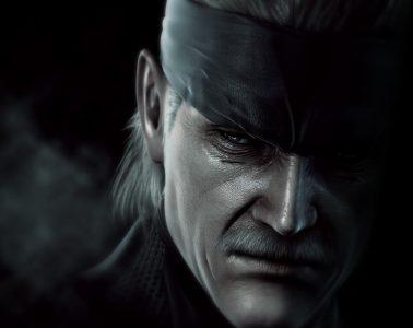 Metal Gear Solid 4 Header