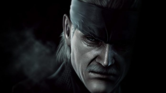 Metal Gear Solid 4 Header