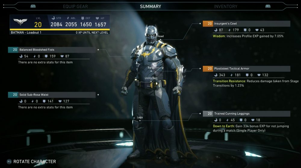 Injustice 2 Body