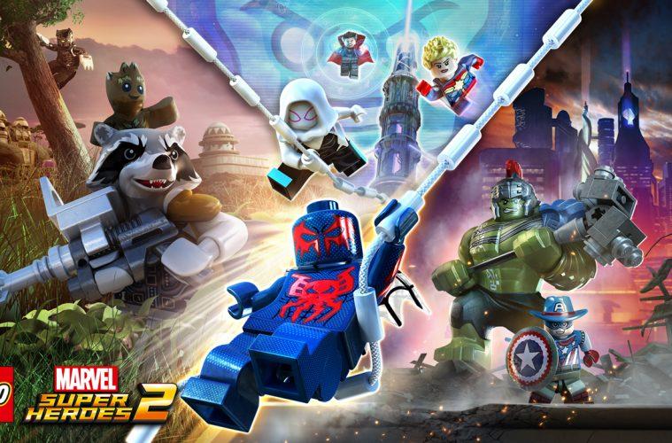 marvel lego 4 players