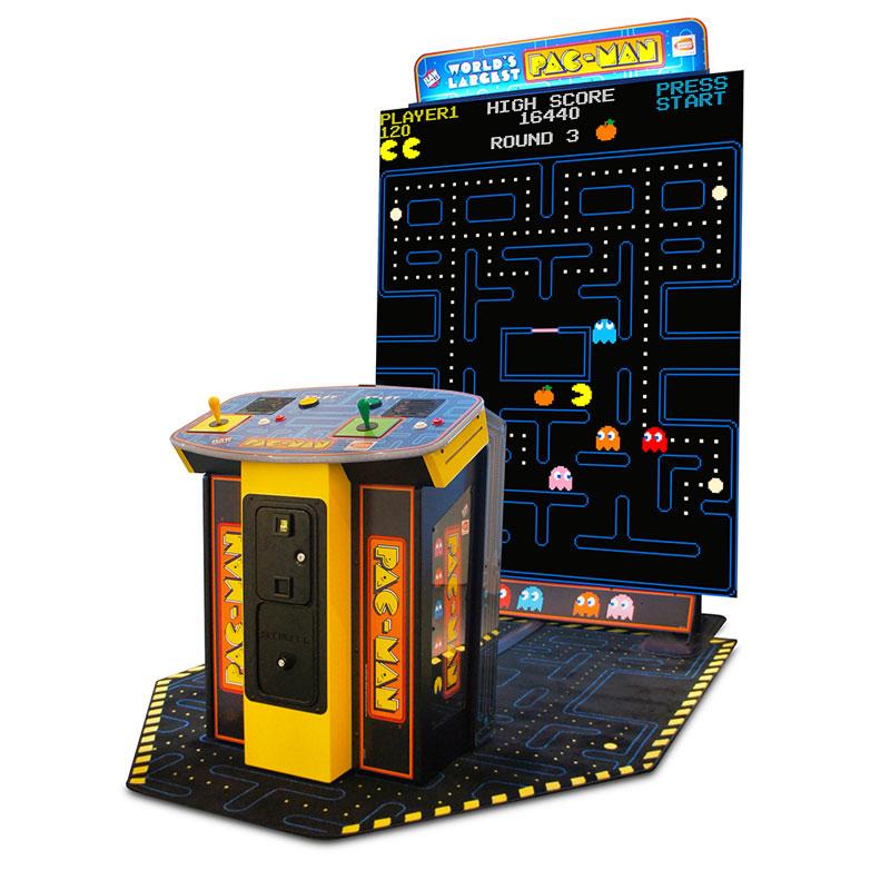 pac arcade machine