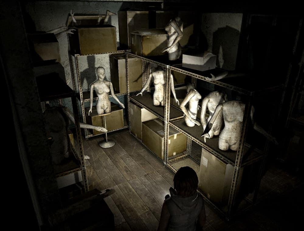 Silent Hill Mannequin