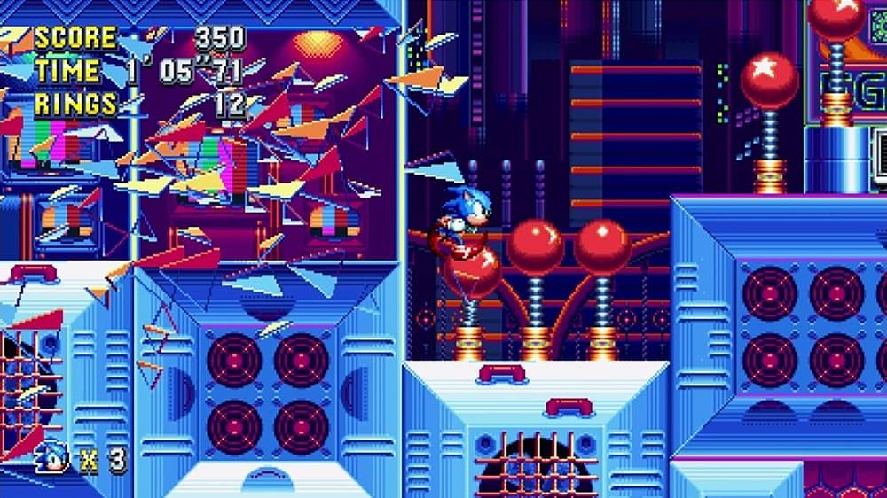 Sonic Mania Body 1