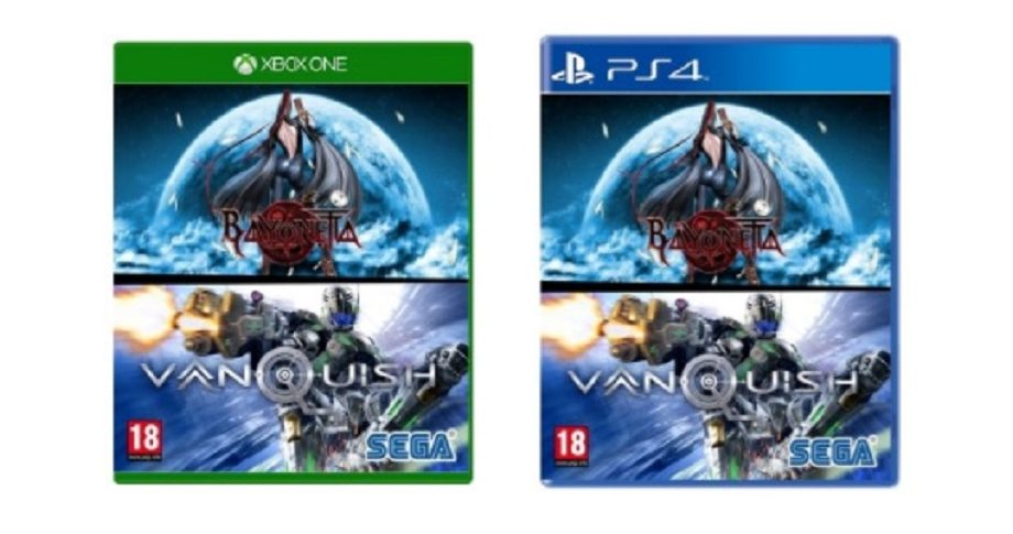 Bayonetta Vanquish Xbox One PS4