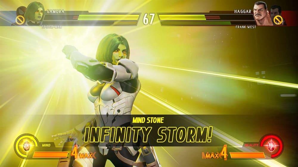 Marvel vs Capcom Infinite Body 1