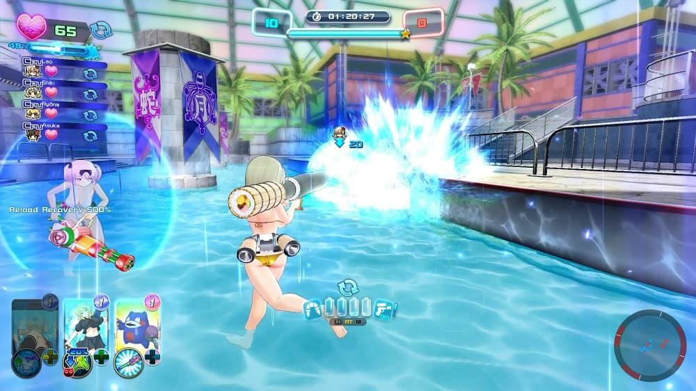 The PC Port of Senran Kagura Peach Beach Splash is Okay, But its DLC