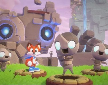 Super Lucky's Tale Header