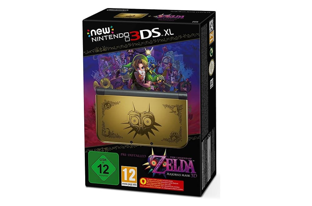 Zelda Majora's Mask New 3DS XL
