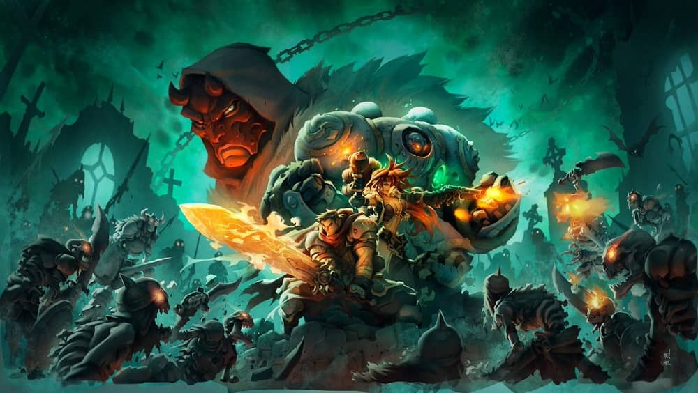 Best JRPGs on Xbox One - Battle Chasers Nightwar