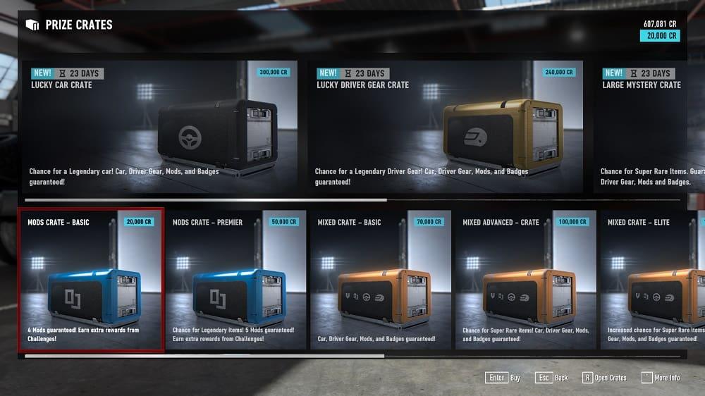 Forza Motorsport 7 Mod Prize Crates