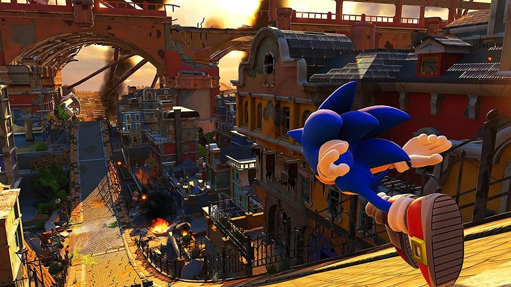 Sonic Forces Header