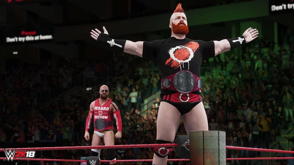 WWE 2K18 Body 1