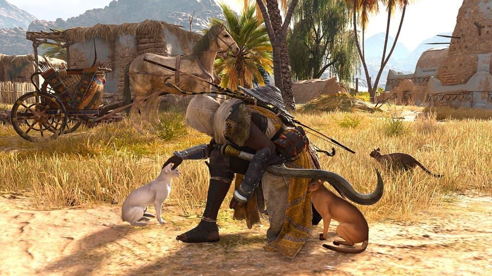 Assassin's Creed Origins Cat Bod