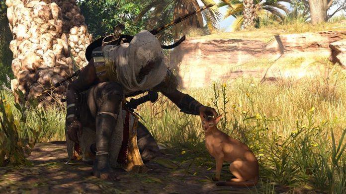 Assassin's Creed Origins Cat Header