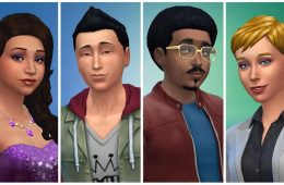 The Sims 4 Header