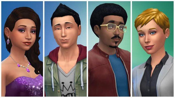 The Sims 4 Header