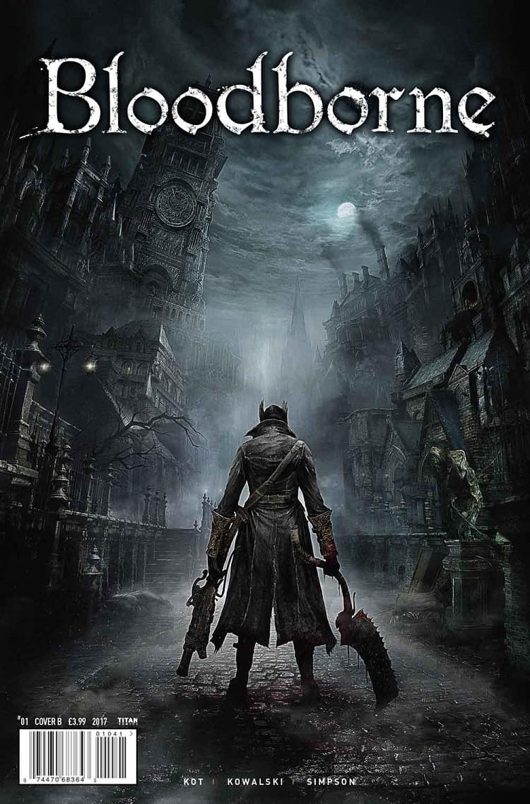 Bloodborne Cover B