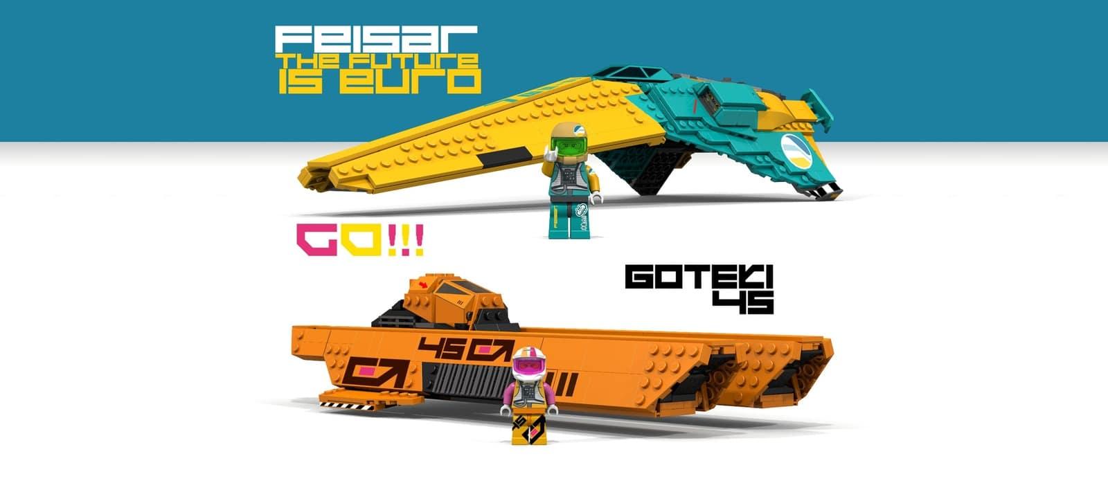 LEGO Wipeout 1