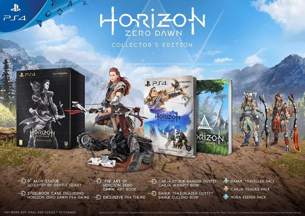 Horizon Zero Dawn CE