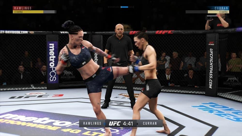 UFC 3 Rawlings v Curran