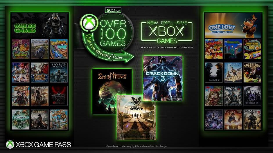 Xbox Game Pass New