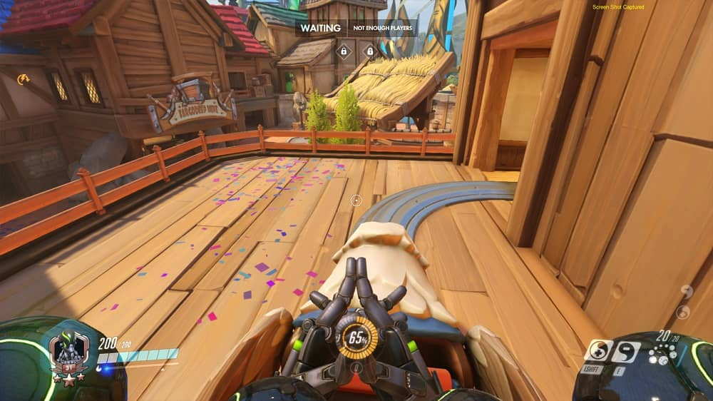 Overwatch Blizzard World Griffin Rollercoaster