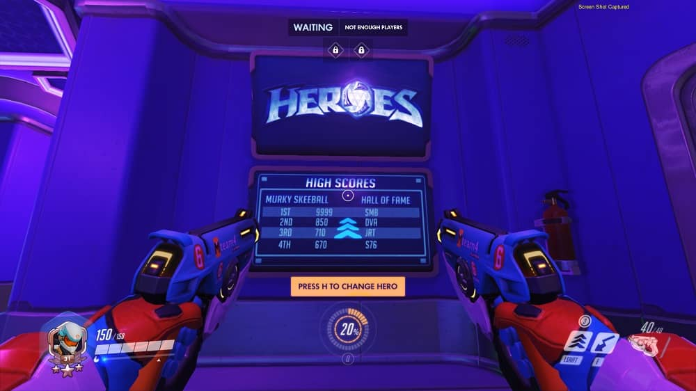Overwatch Blizzard World heroes Arcade leaderboard