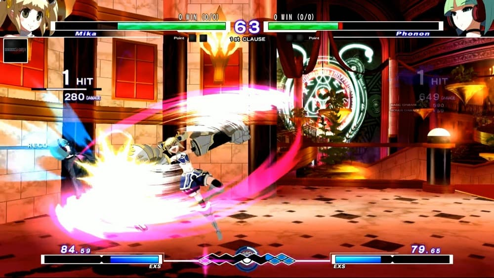 Under Night In-Birth Exe Latest 2