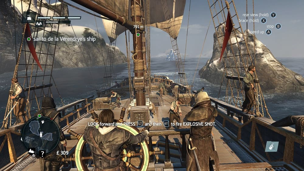 Assassin's Creed Rogue 4