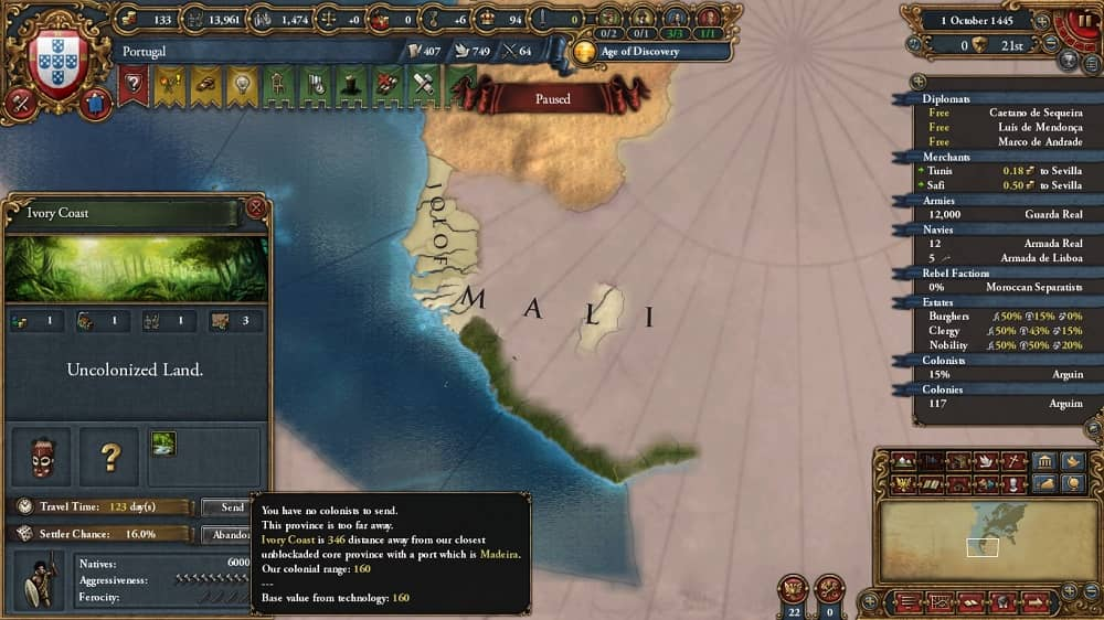 europa universalis 4 how to get level 5 administrative technology