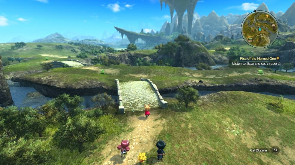 Ni No Kuni 2 Revenant Kingdom world map