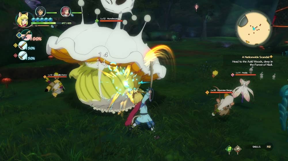 Ni No Kuni 2 Revenant Kingdom combat
