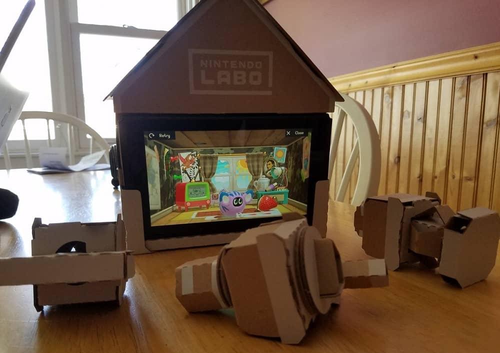 Nintendo Labo house