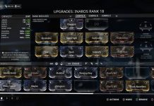 Warframe Mods
