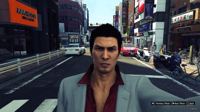 YAKUZA 6 Photo Mode 1