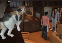 Yakuza 6 Cat Cafe