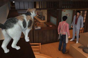 Yakuza 6 Cat Cafe