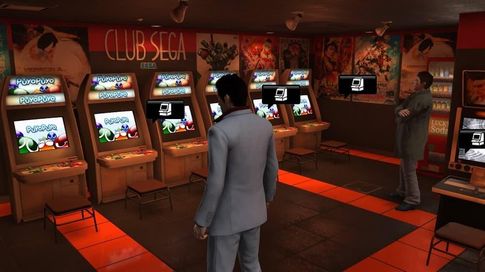 Yakuza 6 Club SEGA