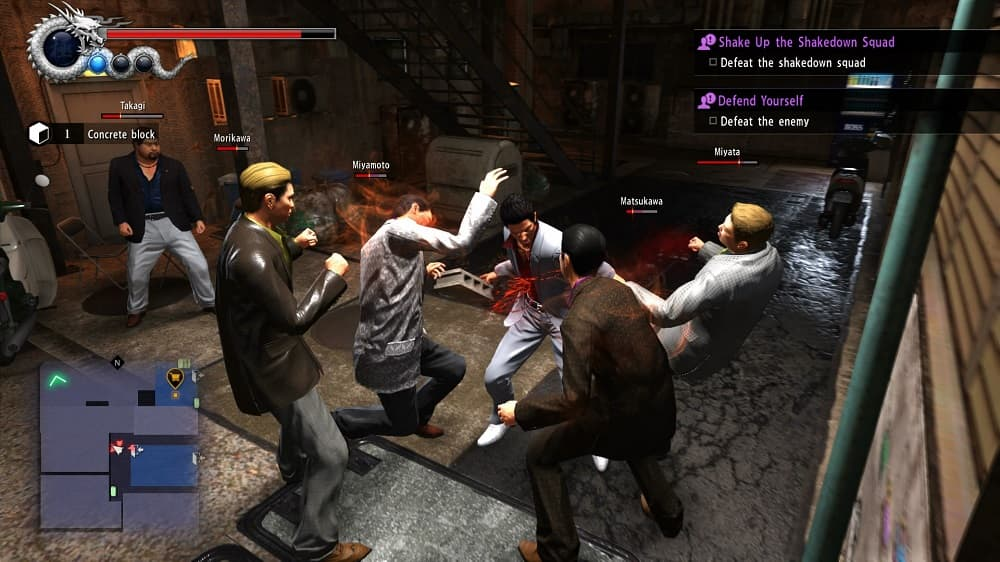 Yakuza 6 Fight