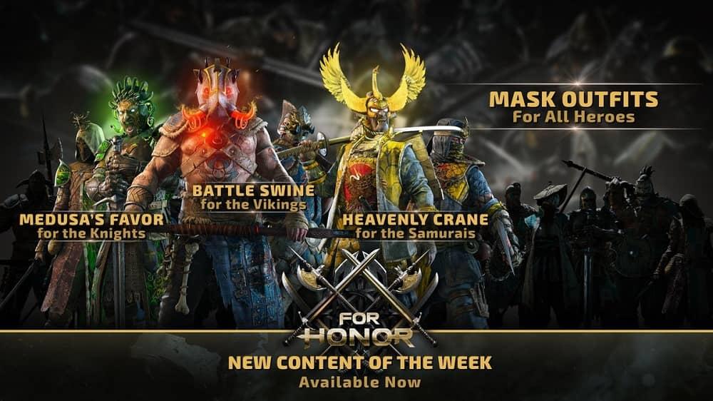 For honor season 6 masks